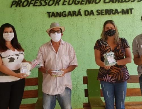 UNEMAT de Tangará da Serra produz e entrega Máscaras de Tecido para o Instituto Resgate João Luiz Pizzato