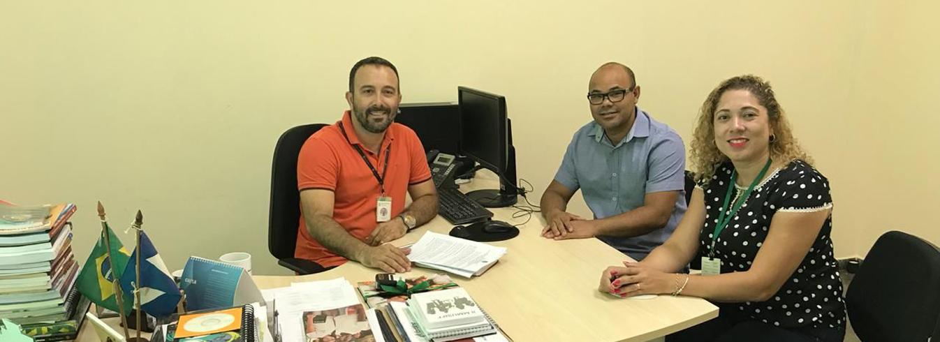 Direção do Câmpus faz reunião com Diretor do IFMT de Tangará da Serra