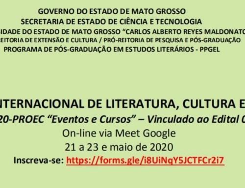 Inscrições abertas para o Congresso Internacional Literatura, Cultura e Resistência