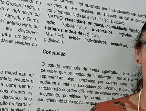 Acadêmica da UNEMAT/Tangará apresenta resultados de pesquisa em simpósio mundial