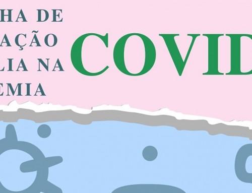 Curso de Enfermagem produz cartilha educativa destinada a população sobre a COVID-19