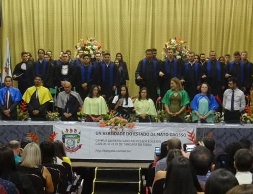 Unemat de Tangará da Serra realiza colação de grau das turmas 2019-1