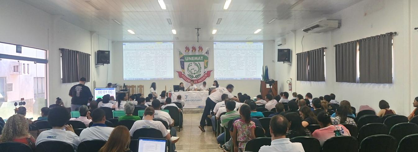 Acontece em Tangará da Serra a Etapa Regional do 3º Congresso Universitário