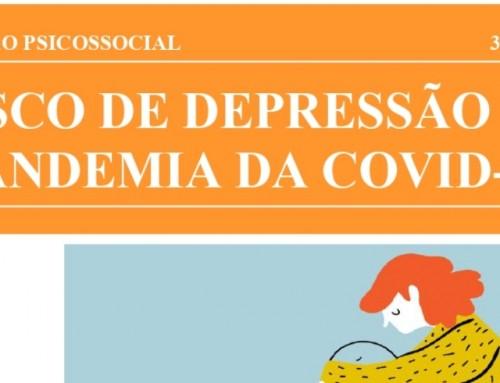 """UNEMAT e CAPS divulgam o quarto informativo com o tema """"Risco de Depressão na Pandemia da COVID-19"""""""