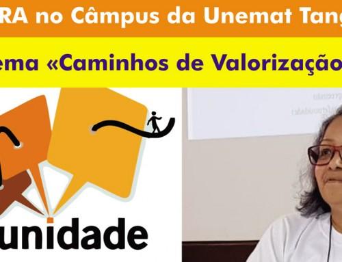 UNEMAT de Tangará da Serra recebe Palestra de Coordenadora Nacional do CVV