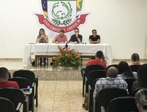 Curso de Jornalismo recebe Profissionais da TV local em Semana do Calouro