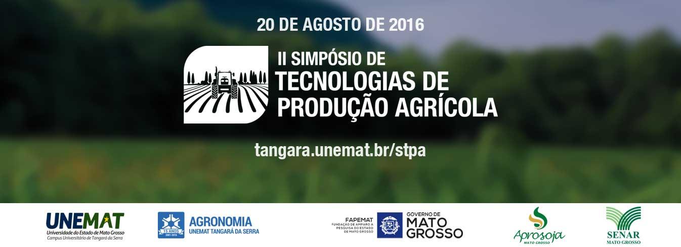 Unemat de Tangará da Serra realizará o II Simpósio de Tecnologias de Produção Agrícola