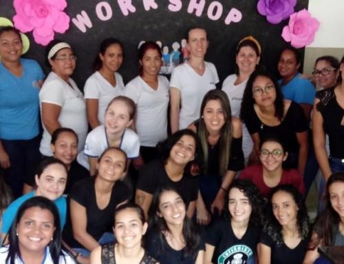 Acadêmicos realizam workshop com os colaboradores da Associação Nosso Lar Casa do Idoso