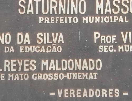 Unemat lamenta falecimento do senhor Saturnino Masson
