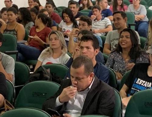 Acadêmicos do 2° módulo em Administração matutino promovem o 1° Ciclo de Palestras