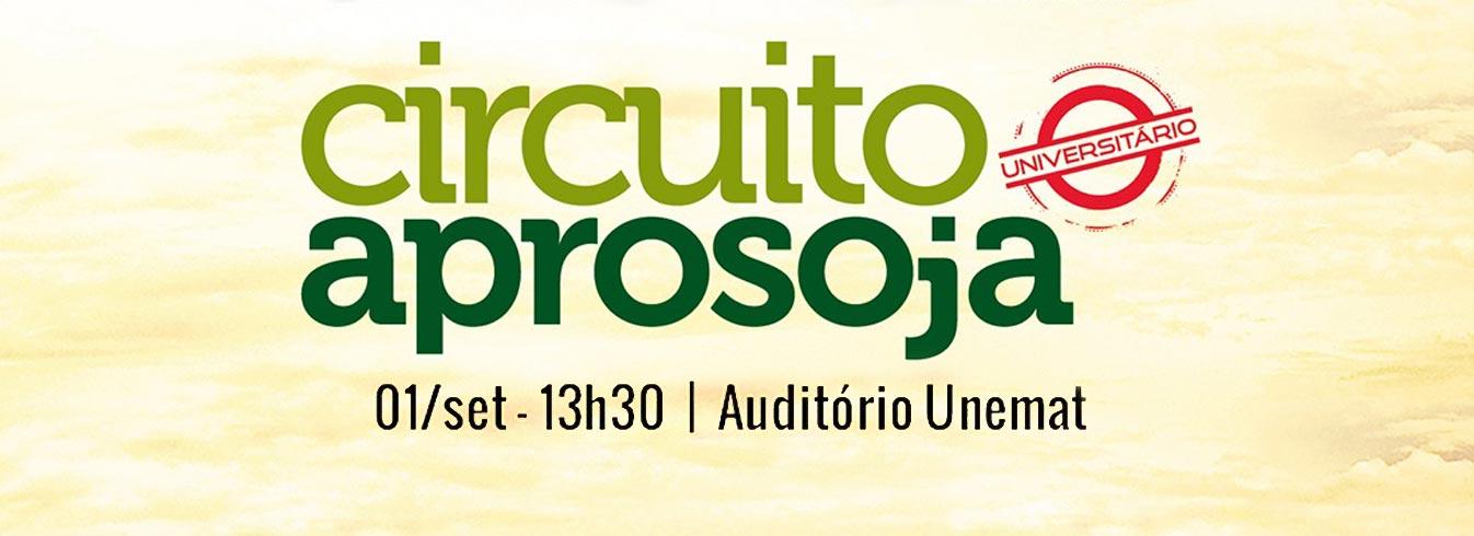 Circuito Aprosoja Universitário na Unemat de Tangará da Serra