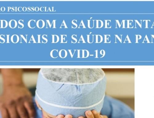 """UNEMAT e CAPS divulgam o quinto informativo com o tema """"Cuidados com a saúde mental dos profissionais de saúde na pandemia COVID-19"""""""