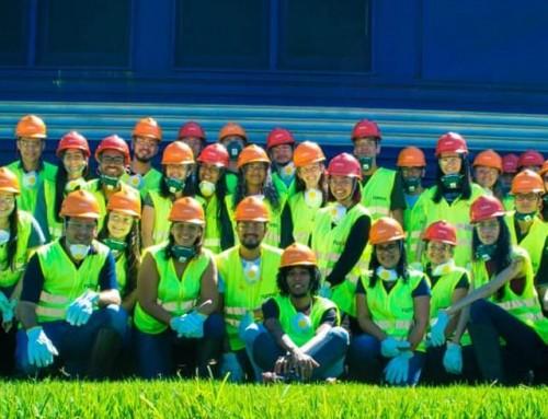 Acadêmicos de Engenharia Civil fazem Visita ao Condomínio Intermodal Rondonópolis