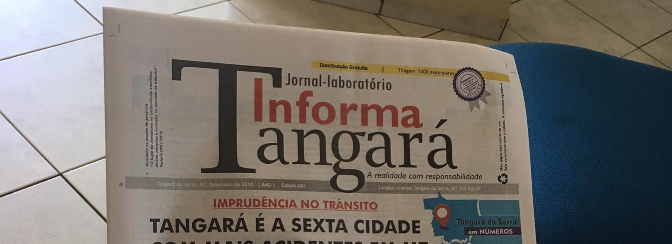 Curso de Jornalismo Lança Jornal Laboratório em Tangará da Serra