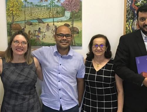 Direção do Câmpus reúne-se para parceria com Secretaria de Estado da Cultura