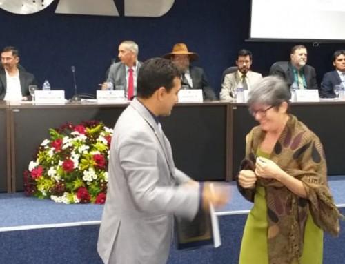 Professora da UNEMAT recebe o Título de Cidadã Tangaraense