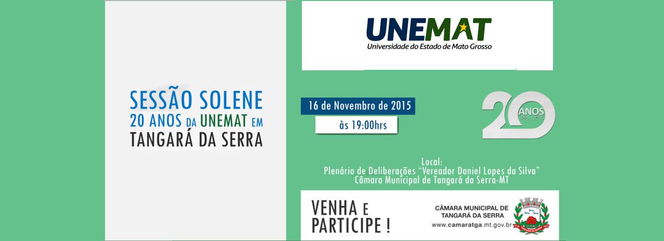 Campus de Tangará da Serra receberá Moção de Aplausos da Câmara dos Vereadores